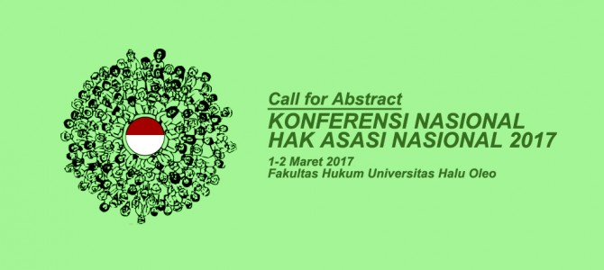 Call For Abstract: Konferensi Nasional Hak Asasi Manusia 2017